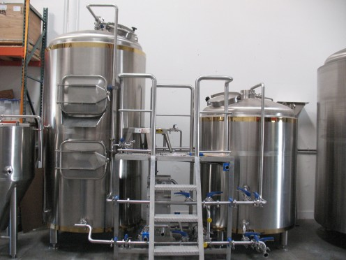 Premier Stainless 15-barrel brewing system