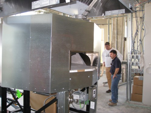 Woodstone Mt. Baker 6' Pizza Oven In Place